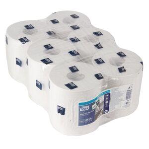 Tork Centrefeed Wiper Dispenser Refill White (Pack of 6)