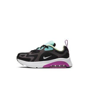 Nike Air Max 200 Younger Kids' Shoe - Black  - Black - Size: 11.5