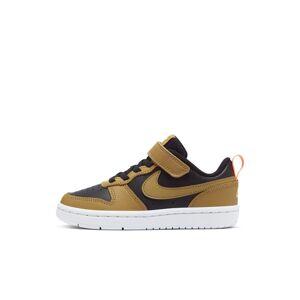 Nike Court Borough Low 2 Younger Kids' Shoe - Black  - Black - Size: 13
