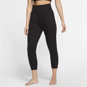 Nike Yoga Women's Trousers - Black  - Black - Size: Large
