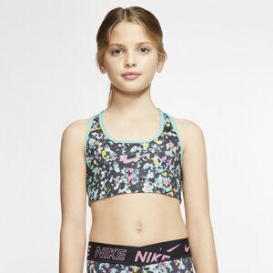 Nike Older Kids' (Girls') Reversible Sports Bra - Black  - Black - Size: Medium