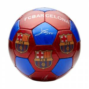 Nike FC Barcelona Large Football - Red  - Red - Size: One Size