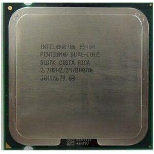 Intel Pentium E5400 (2.7Ghz) LGA775