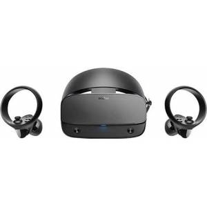 Oculus Rift S PC-Powered VR Gaming Headset(with Controllers), A