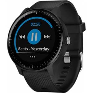 Garmin Vivoactive 3 Music GPS Smartwatch and Wrist Heart Rate - Black, C