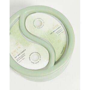 Paddywax Yin & Yang 11oz Green Tea & Aloe Candle-No colour  - No colour - Size: No Size