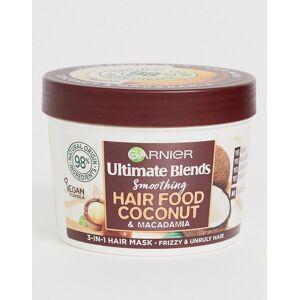 Garnier Ultimate Blends Vegan Hair Food Coconut Oil 3-in-1 Frizzy Hair Mask Treatment 390ml-No Colour