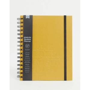 Typo planner for mid year 2020/21 in A5 with must make plans slogan-Brown  - female - Brown - Size: No Size