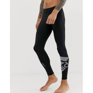 adidas performance adidas Training logo tights in black  - male - Black - Size: Extra Small