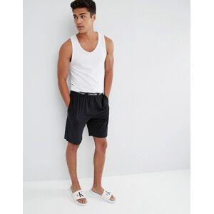 Calvin Klein regular fit lounge shorts in black
