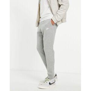Nike cuffed Club jogger in grey BV2671-063  - male - Grey - Size: Extra Small