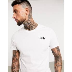 The North Face Simple Dome T-Shirt in White