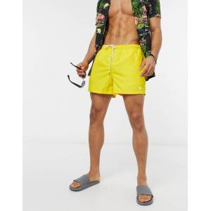 New Look basic swimshorts in yellow  - male - Yellow - Size: Extra Small