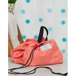 Flat Lay Company Flat Lay Co drawstring make up bag in coral-Multi