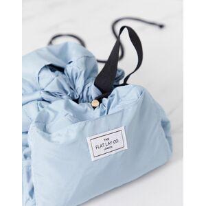 Flat Lay Company Flat Lay Co drawstring make up bag in Haze Blue-Multi