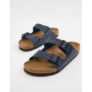 Birkenstock Arizona birko-flor sandals in blue