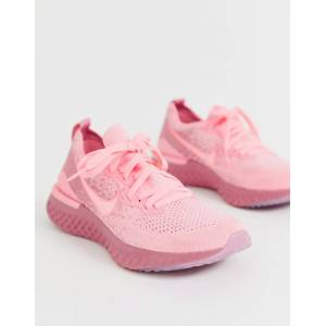 Nike Running epic react trainers in pink