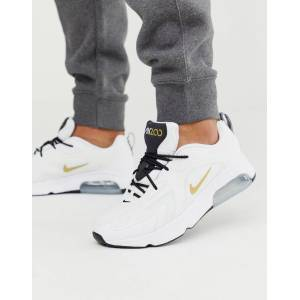 Nike Air Max 200 trainers in white