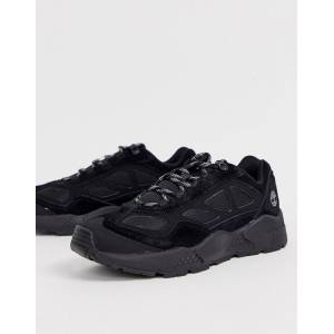 Timberland ripgorge low trainers in black suede