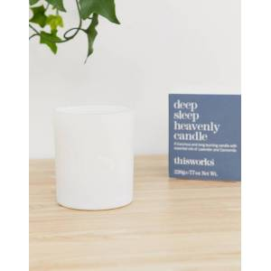 This Works deep sleep heavenly candle 220g-No Colour  - female - No Colour - Size: No Size