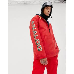 Analog Chainlink Anorak in Red