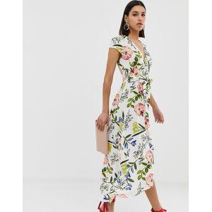 AX Paris floral maxi dress-Cream