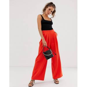 Unique21 wide trousers-Orange
