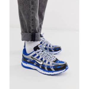 Nike P-6000 trainers in blue