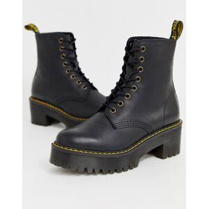 Dr Martens Shriver Hi Wyoming heeled ankle boots in black