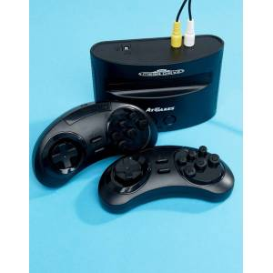 PQUBE Sega Mega Drive Classic Retro Games Console-Multi
