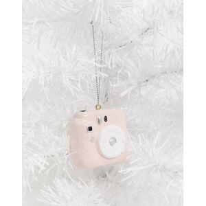 Typo Christmas decoration in camera design-Multi  - unisex - Multi - Size: No Size