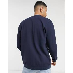 Tom Tailor jersey bomber jacket in navy  - male - Navy - Size: Extra Small
