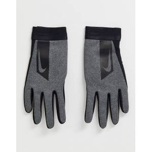 Nike Football academy Hyperwarm gloves In grey  - male - Grey - Size: Medium