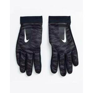 Nike Football hyperwarm academy gloves in black camo print  - male - Black - Size: Large