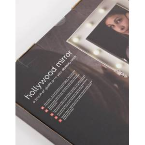 Thumbs Up Hollywood Light Up Mirror-No colour  - No colour - Size: No Size