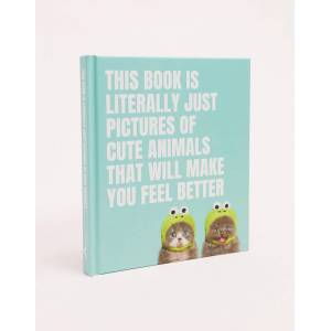 Books This book is literally just picture of cute animal that will make you feel better-Multi