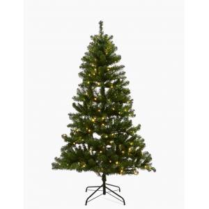 Marks & Spencer 7ft Pre Lit Nordic Spruce Christmas Tree - Green Mix