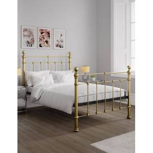 Marks & Spencer Castello Bed - Antique Brass  - unisex - Antique Brass - Méid: King Size (5 ft)