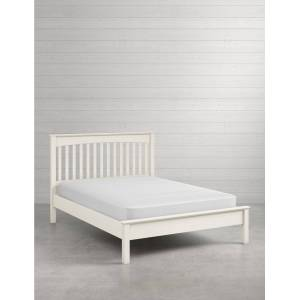 Marks & Spencer Hastings Ivory Bed - White  - unisex - White - Méid: Double (4 ft 6)