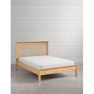 Marks & Spencer Hastings Light Natural Bed - Natural  - unisex - Natural - Méid: Double (4 ft 6)