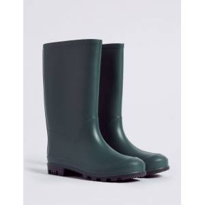 Marks & Spencer Kids' Wellies (13 Small - 7 Large) - Green