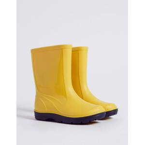 Marks & Spencer Kids' Wellies (5 Small - 12 Small) - Yellow