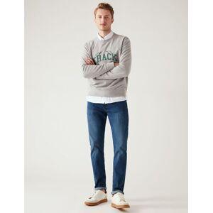 Marks & Spencer Slim Fit Stretch Jeans - Medium Blue