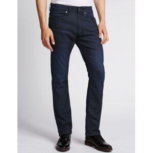 Marks & Spencer Slim Fit Stretch Travel Jeans - Natural Mix