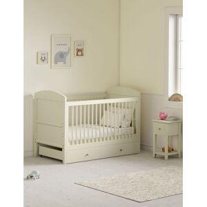 Marks & Spencer Hastings Ivory Cot Bed - White  - unisex - White