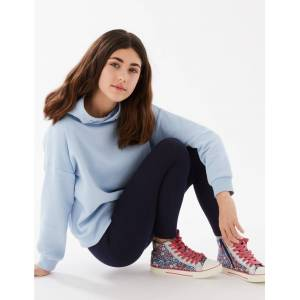 Marks & Spencer Cotton Leggings with Stretch (3-16 Years) - Navy