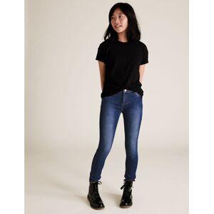 Marks & Spencer Super Skinny Jeans (3-16 Years) - Med Blue Denim