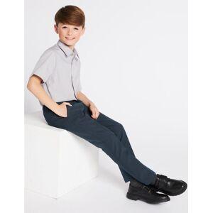 Marks & Spencer 2 Pack Boys' Skinny Leg Trousers - Navy