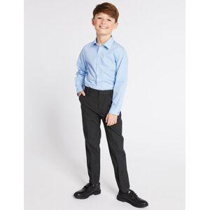 Marks & Spencer Boys' Skinny Leg Longer Length Trousers - Navy