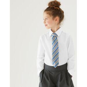 Marks & Spencer 3 Pack Girls' Regular Fit Easy to Iron Blouses - Cream